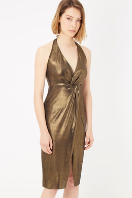 Oro Gold Dress