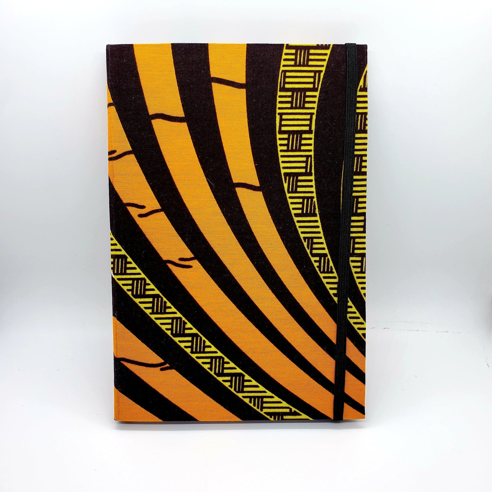 African Print Refillable Notebook