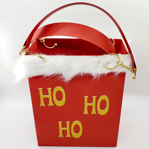 Mrs Claus Gift bag front