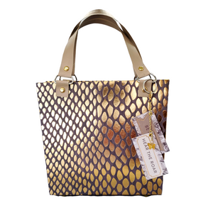 Animal print paper purse gift bag