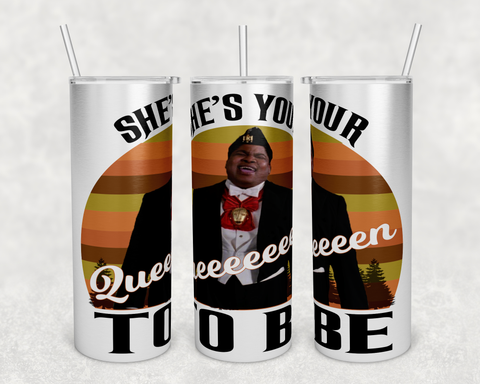 Coming to America 20oz Tumbler