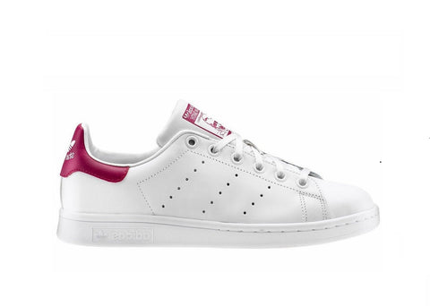 Adidas Stan Smith White-Bordeaux