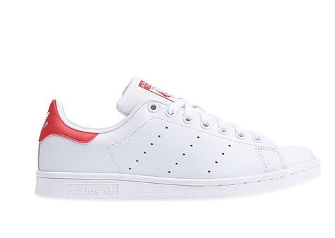 Scarpe Adidas Stan Smith White-Red [Spedite dall'Italia in 24/48 ore] - Price One Shop