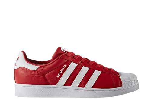 Adidas Superstar Originals Red-White