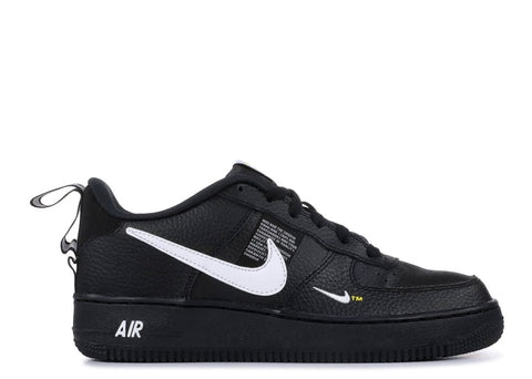 Nike Air Force 1 LV8 Utility GS Black White - Price One Shop