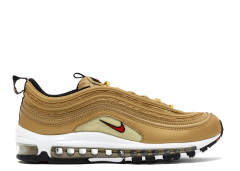 Scarpa Nike Air Max 97 OG QS Gold White [Spedite dall'Italia in 24/48 ore] - Price One Shop