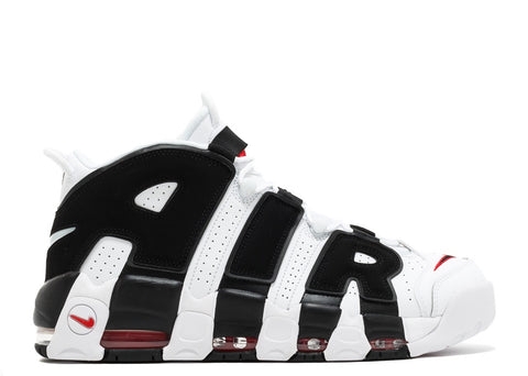 Nike Air More Uptempo '96 White Black Red - Price One Shop
