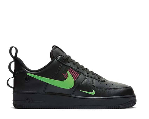 Scarpa Nike Air Force 1 '07 LV8 Utility Black Green [Spedite dall'Italia in 24/48 ore] - Price One Shop