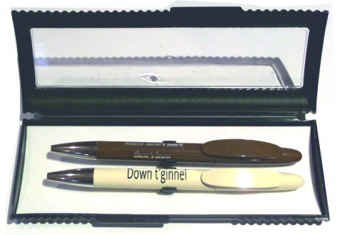 Yorkshire Dialect -  Pen Box with two Ballpens