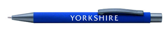 Yorkshire Metal ballpen. Boxed.