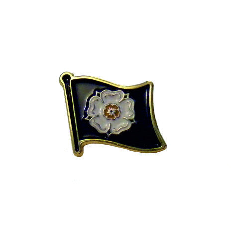 Fly the Flag for Yorkshire - Enamel lapel badge