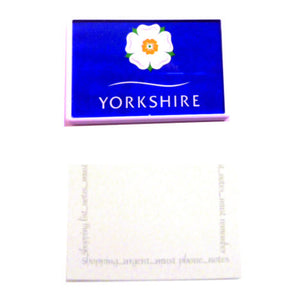 Yorkshire Rose Magnetic Memo Pad
