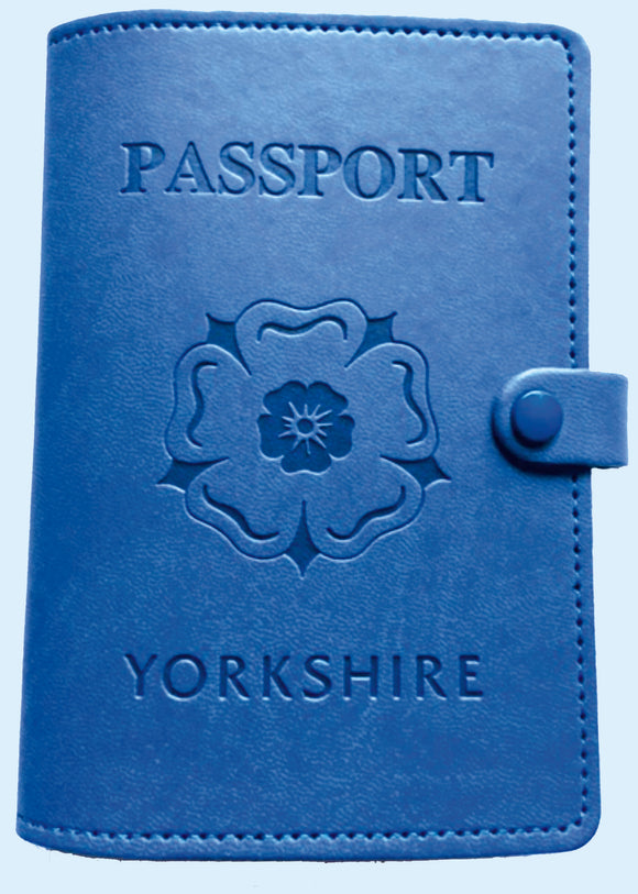 Yorkshire Rose Passport Cover