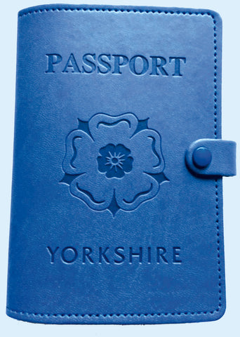 New!   Yorkshire Passport Cover