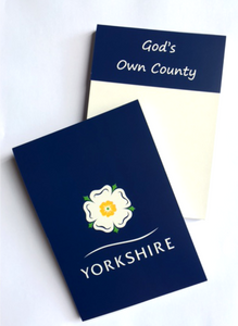 Yorkshire Rose Notepad