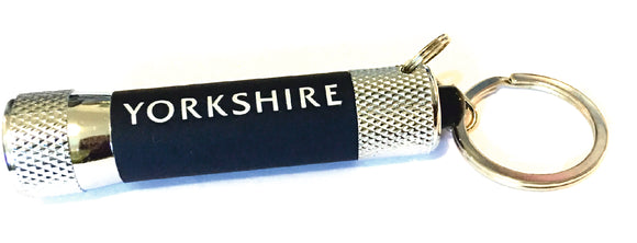 Yorkshire LED Keyring Torch