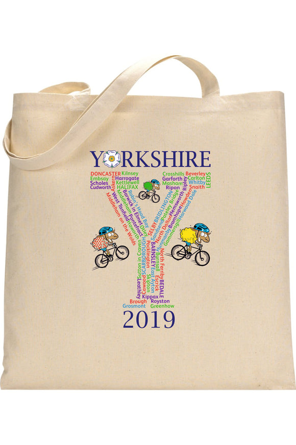 YORKSHIRE TOUR 2019 Commemorative Shopper