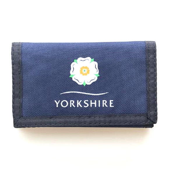 Yorkshire Rose Velcro wallet
