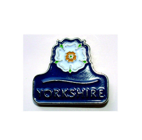 Enamel lapel badge