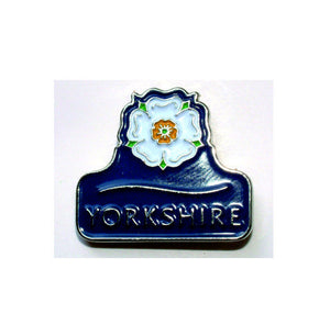 Yorkshire Rose Enamel lapel badge