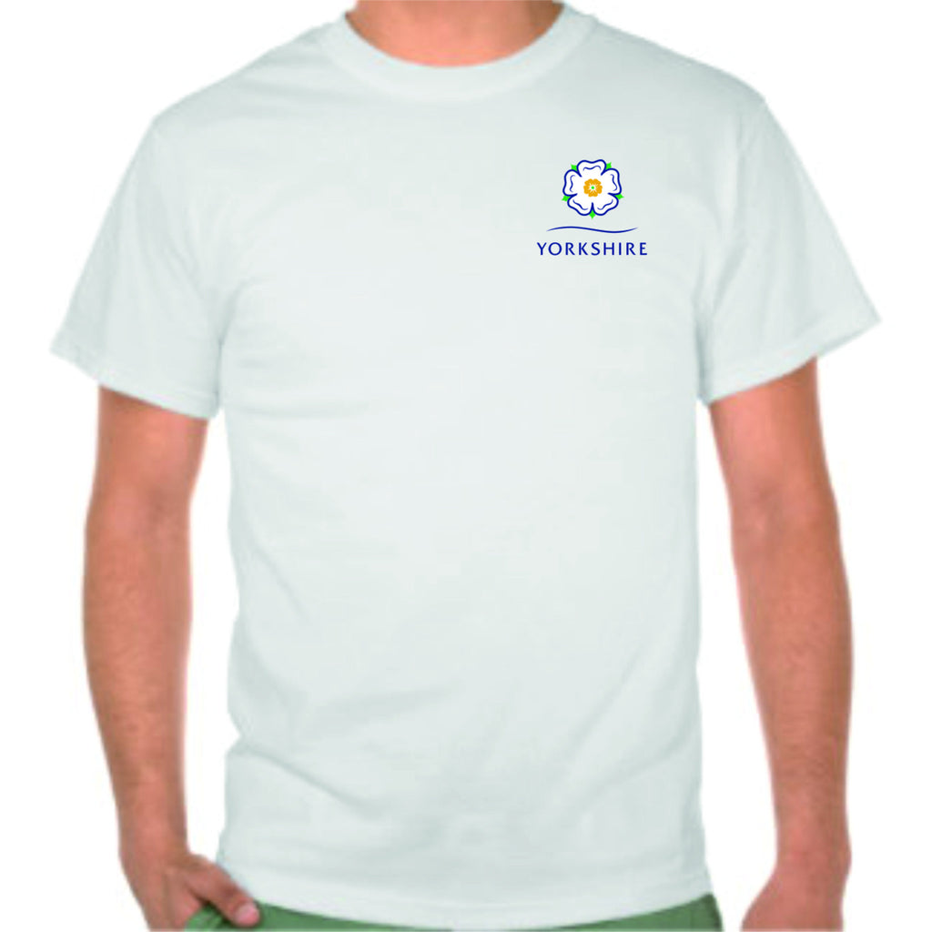 Yorkshire White Tee Shirt