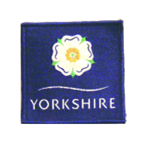 Yorkshire Rose Woven badge