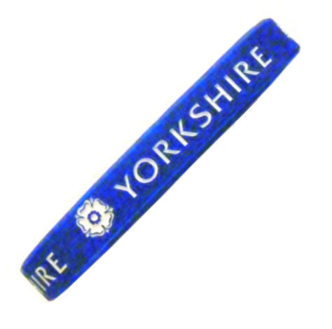 Yorkshire Silicon Collectors Wristband