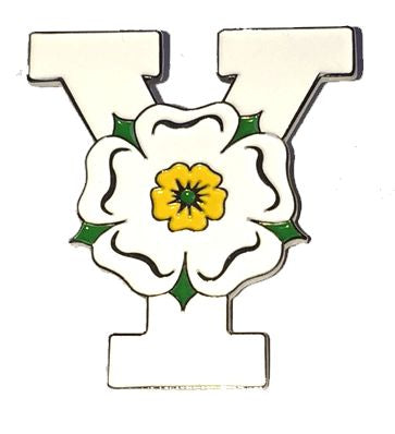 Yorkshire Y Enamel Badge