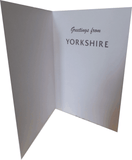 Yorkshire Rose Greetings Card. Pack of 4