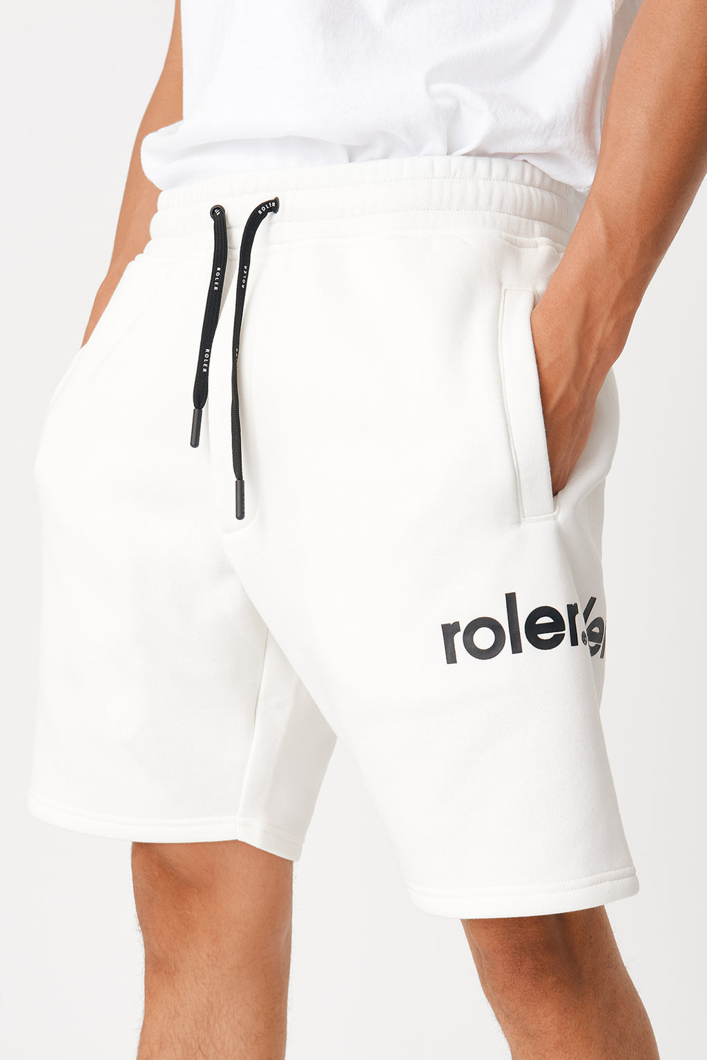 The Normani Short - Off White - Roler Clothing