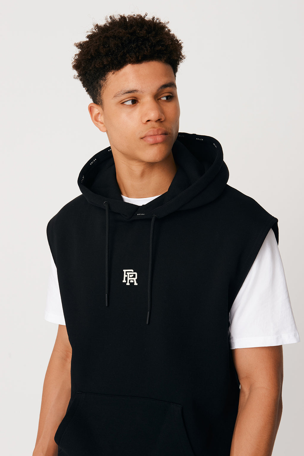 The Tyson Hoodie - Black - Roler Clothing