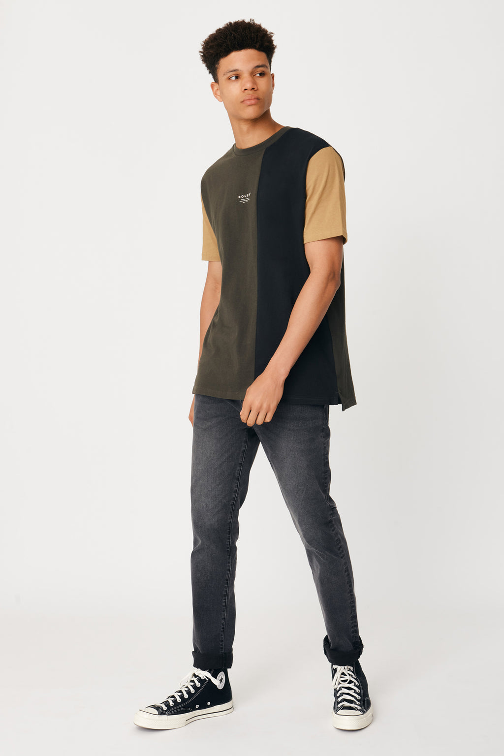 The Brannan Tee - Evergreen Black - Roler Clothing