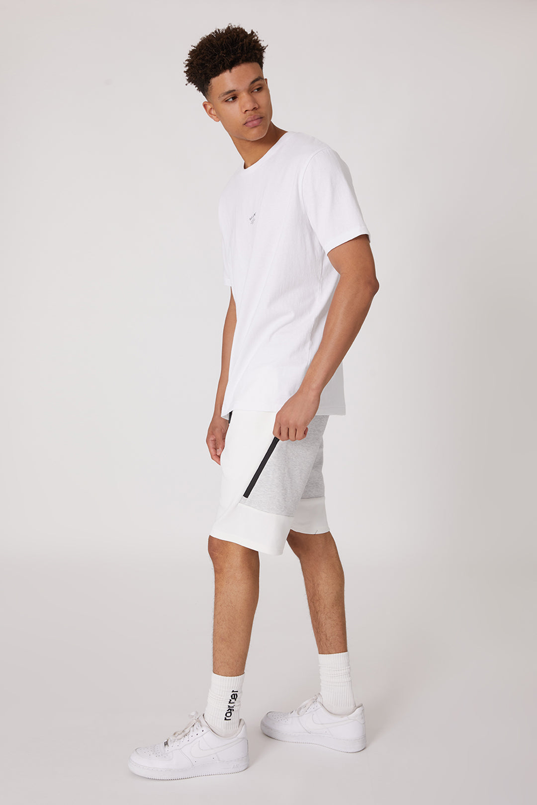 The Contrast Witton Short - White - Roler Clothing