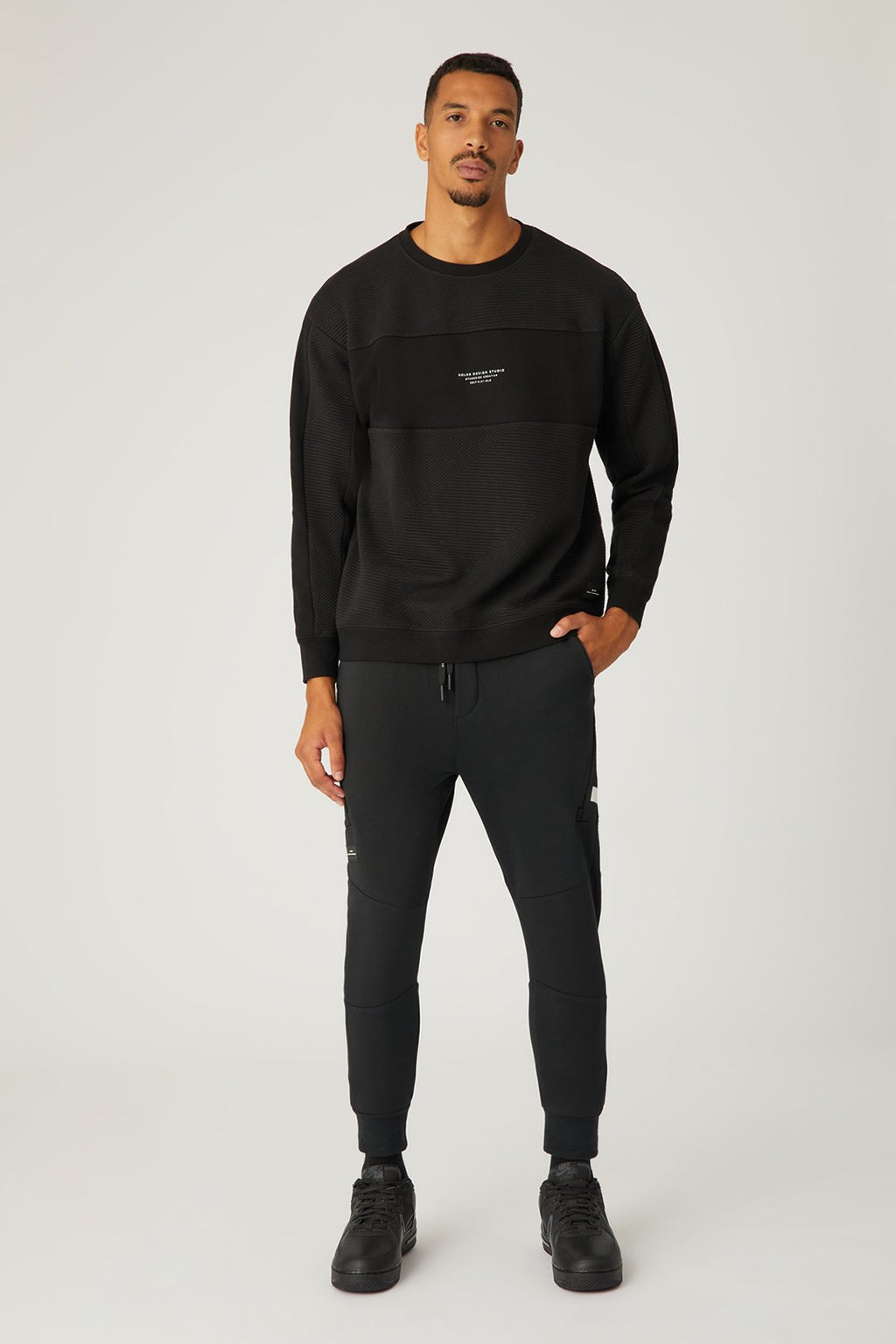 The Torello Sweat - Black