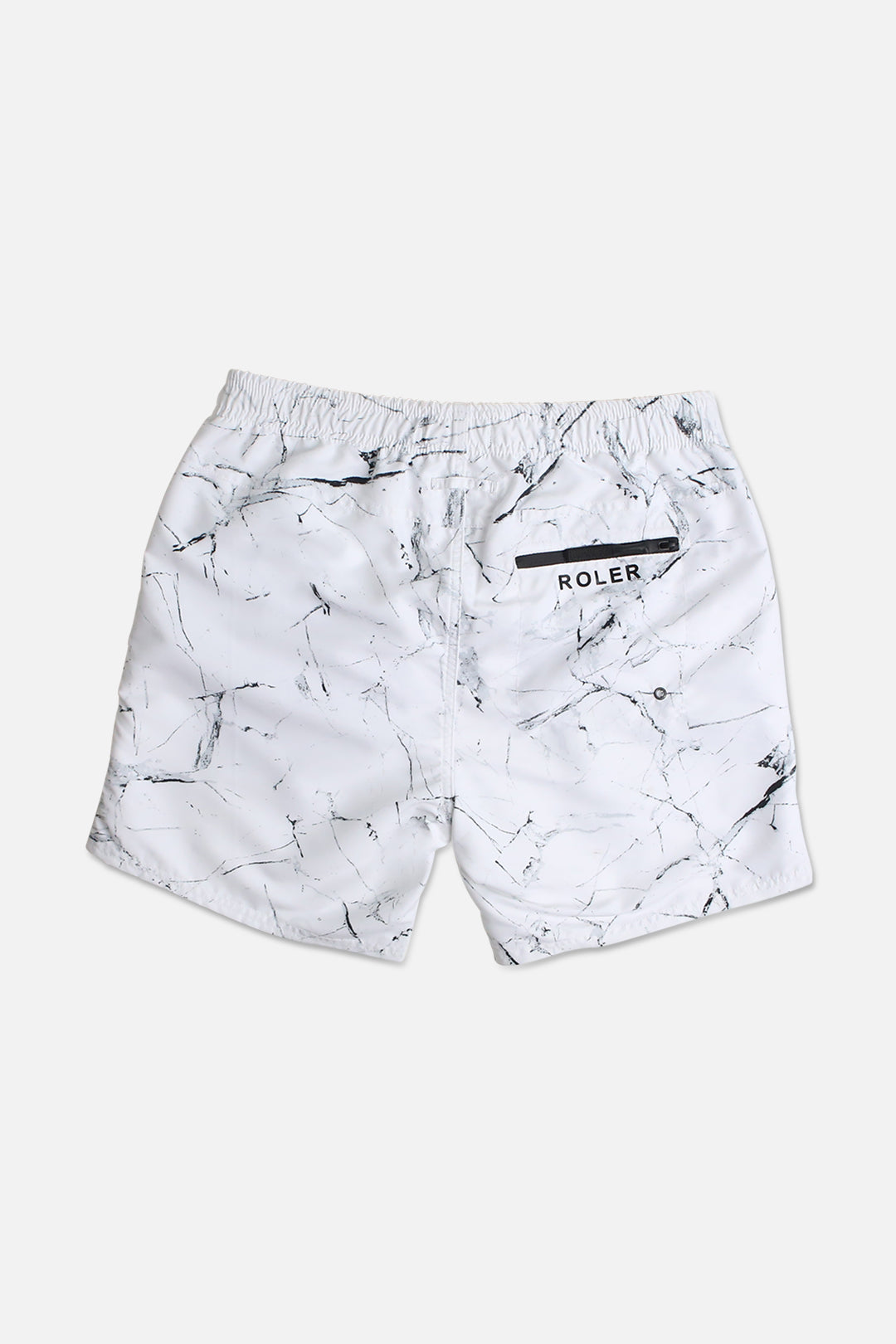 The Cauldwell Boardie - Marble White - Roler Clothing