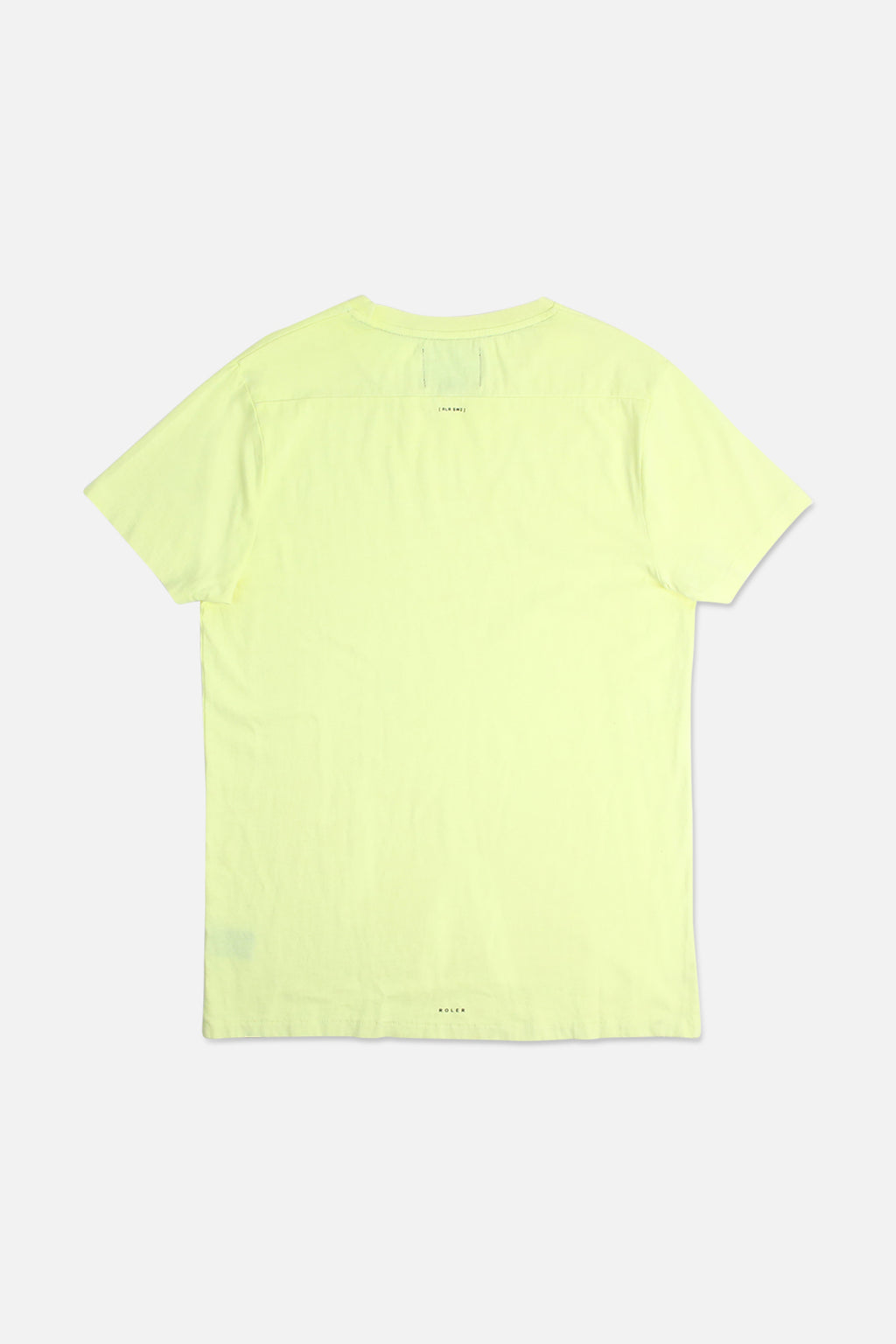 The Farrell Tee - Fluro Yellow - Roler Clothing