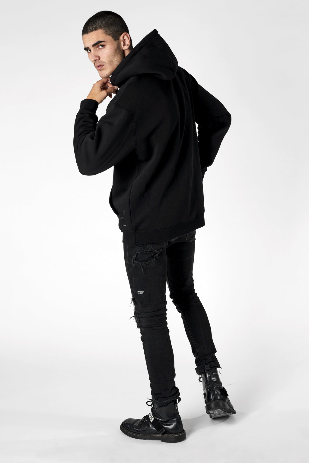The Dorado Hoodie - Black - Roler Clothing