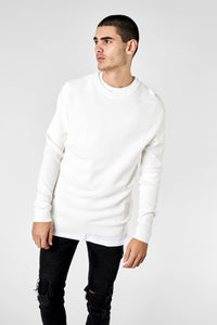 The Drexel Knit - Off White - Roler Clothing