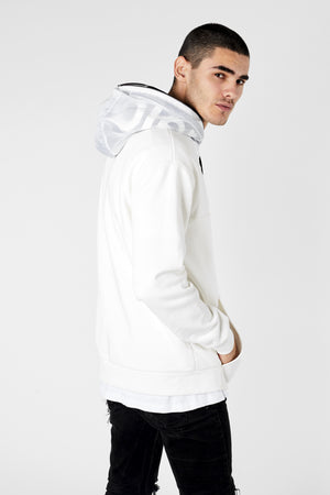 The Roxbury Hoodie - Off White - Roler Clothing