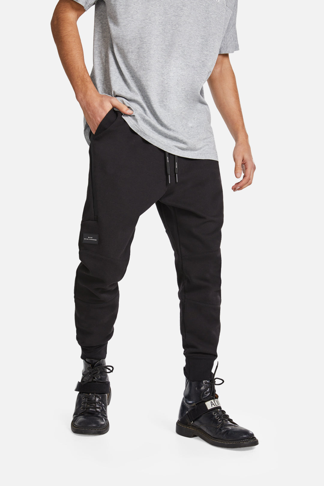 The Witton Trackie - Black - Roler Clothing