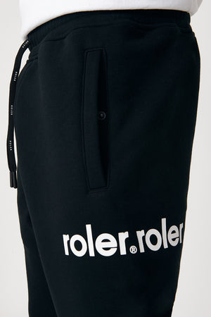 The Norman Trackie - Black - Roler Clothing