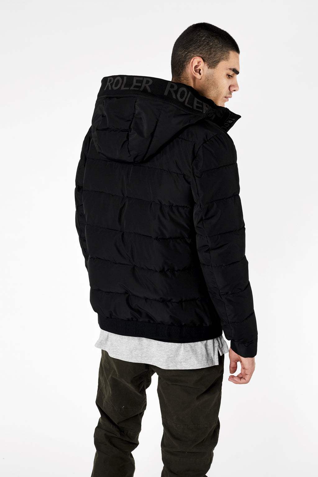 The Saldano Jacket - Black - Roler Clothing