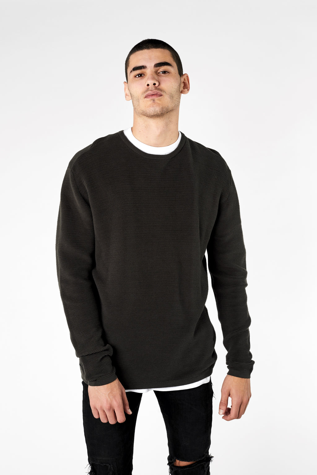 The Bonita Knit - Evergreen - Roler Clothing
