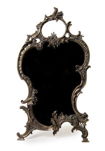 Louis XV Style Silver-Plate Dressing Mirror