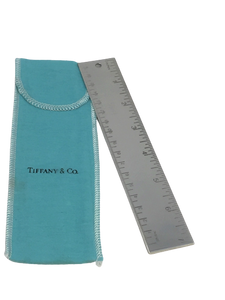 Tiffany & Co Silver Metric Ruler