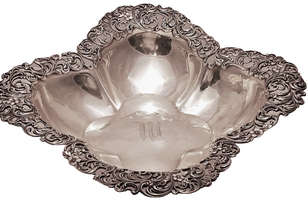J. E. Caldwell Sterling Silver Centerpiece / Fruit Bowl