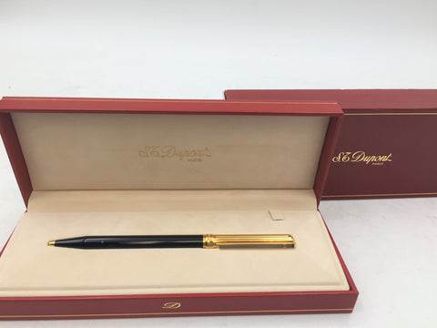 S.T. Dupont Gold-Plated Hermitage Ballpoint Pen