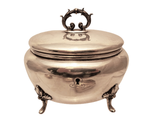 Polish Sterling Silver Sugar / Esrog Box