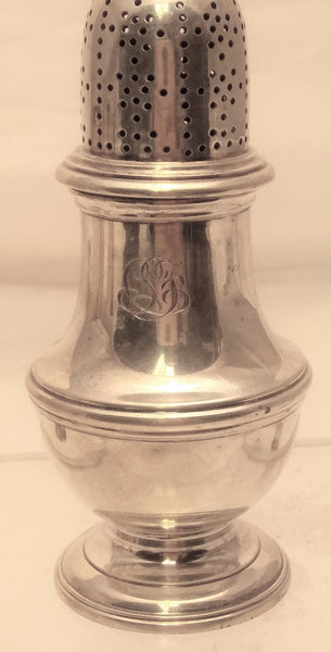 Tiffany & Co. Pair of Sterling Silver Salt Shakers
