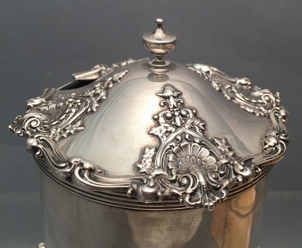 Sterling Silver Marmalade Jar by Smith Patterson & Co